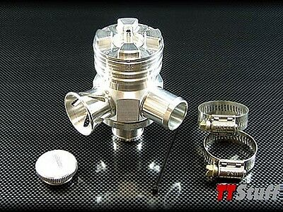 Forge Motorsport Splitter Blowoff Diverter Valve Audi TT A4 S4 VW BOV - Polished