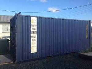Shipping Container 20' Blue fitted with Light and Vent Mackay Mackay City Preview