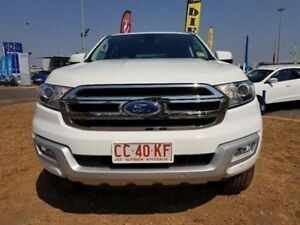 2016 Ford Everest UA Trend 4WD White 6 Speed Sports Automatic Wagon