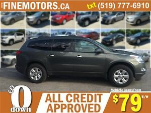 2011 CHEVROLET TRAVERSE LS * 7 PASSENGER * LOW KM * EXTRA CLEAN London Ontario image 3