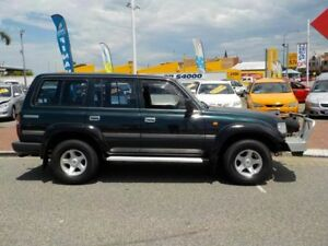 1996 Toyota Landcruiser FZJ80R GXL Green 4 Speed Automatic Wagon
