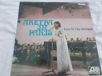 Vinyl LP Aretha In Paris Live At The Olympia – Aretha Franklin Atlantic 587 149 Mono 1968