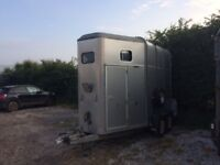 Silver Ifor Williams 510 trailer for sale