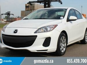 2013 Mazda Mazda3 GX A/C 1 OWNER LOCAL ACCIDENT FREE