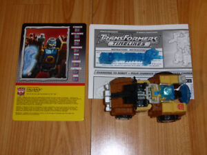 TRANSFORMERS BOTCON 2005 FALLBACK EXCLUSIVE