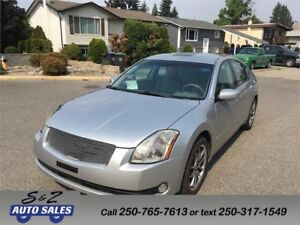 2004 Nissan Maxima LOW KM! NAV-LEATHER++++