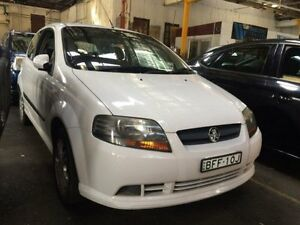 2008 Holden Barina TK MY08 White 5 Speed Manual Hatchback Georgetown Newcastle Area Preview