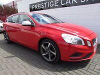 VOLVO V60 2.0 D3 R-DESIGN 5d 161 BHP (red) 2012