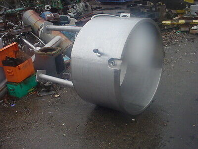80 Gallon Stainless Steel Jacketed Tank Kettle Open Top