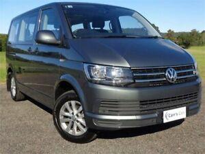 2016 Volkswagen Multivan T6 MY16 TDI340 Comfortline Grey Sports Automatic Dual Clutch Wagon