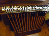 hammond organ 25 note bass pedals