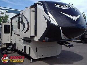 2017 Solitude 384GK 5th Wheel