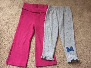 Children's Place & Disney Girls Pants, size 18-24 M