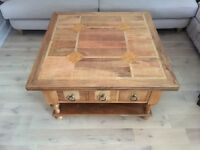 Fruitwood Coffee Table in excellent condition