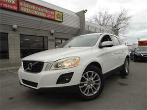 2010 VOLVO XC60 3.2L AWD  **LEATHER+SUNROOF**