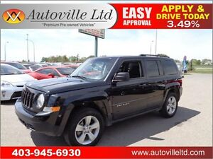 2011 Jeep Patriot 4 X4  EVERYONE APPROVED, 90 DAYS NO PAYMENTS