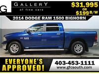 2014 DODGE RAM BIG HORN CREW *EVERYONE APPROVED* $0 DOWN $199/BW