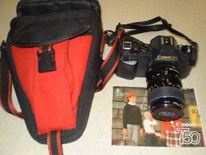 CANON T50 PROGRAMMED AUTOMATION 35-70MM SLR CAMERA CAMERA Leumeah Campbelltown Area Preview