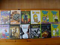 Mixed 112+Film DVD Bundle region 2, 35.00 pounds