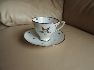 Teacup and saucer - Eastern Star