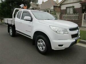 2014 Holden Colorado RG MY14 LX (4x4) White 6 Speed Automatic Space Cab Chassis Croydon Burwood Area Preview