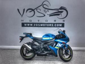2018 Suzuki GSX-R600L8 - V3207NP - No Payments For 1 Year**