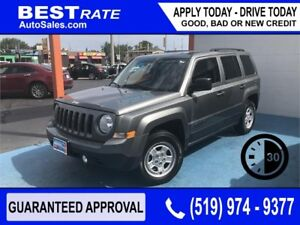 JEEP PATRIOT NORTH - APPROVED IN 30 MINS! - REBUILD YOUR CREDIT