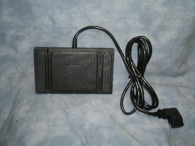 Sanyo Transcriber 3-Switch Foot Pedal            Model  FS-91B