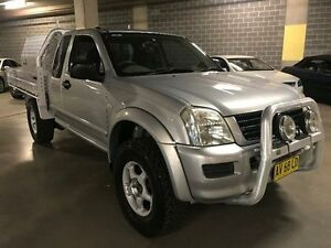 2002 Holden Rodeo TF LX Silver Manual Utility Campbelltown Campbelltown Area Preview
