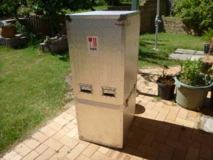 Lockable Aluminium Clad Transportation Box
