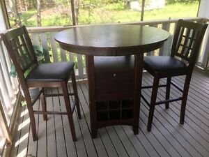 """Wine"" Table & Chairs"