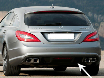 Mercedes CLS63 AMG Shooting Brake Diffuser Insert Genuine FEO AMG 2011 ONWARDS