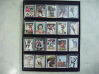 for sale 20 NHL.cards all over $5.00 and frame,.