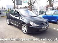 2003 (03 Reg) Peugeot 307 2.0 XSI DIGITAL A/C 5DR Hatchback GREY + LOW MILES