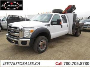 2012 Ford Super Duty F-550 with Palfinger PK6501 Boom Picker