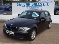 BMW 1 SERIES 2.0 116I SE 5d 121 BHP (black) 2009