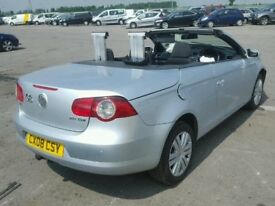 BREAKING FOR PARTS VW EOS 2.0TDI 6 SPEED MANUAL 2008 IN SILVER