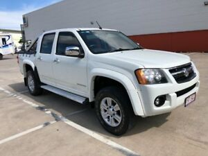 2009 Holden Colorado RC MY09 LT-R (4x2) White 4 Speed Automatic Crew Cab Pickup