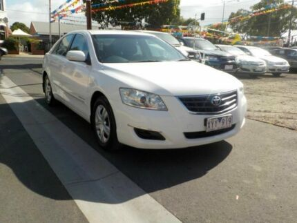2008 Toyota Aurion GSV40R AT-X White 6 Speed Auto Sequential Sedan Newtown Geelong City Preview
