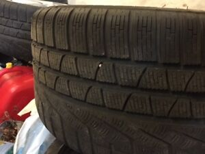 Pirelli Winter Tires 235/40/19 & 285/35/19
