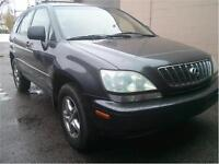 LEXUS RX 300 ALL WHEEL DRIVE 1 OWNER EXCELLENT!!