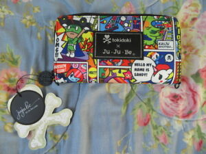 "New Jujube Tokidoki Super Toki ""be spendy"" wallet Stellina!"