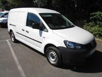 Volkswagen Caddy MAXI 1.6TDI 102PS STARTLINE VAN DIESEL MANUAL WHITE (2014)