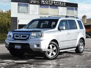 2009 Honda Pilot EX-L 4WD *One Owner, Accident Free, Loaded*