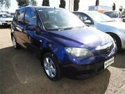 2002 Mazda 2 DY10Y1 Genki Blue 4 Speed Automatic Hatchback Colyton Penrith Area Preview