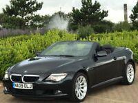 BMW 6 SERIES 3.0 635D SPORT 2d AUTO 282 BHP (black) 2009