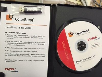 Efi Colorburst Rip With Dongle For Vutek