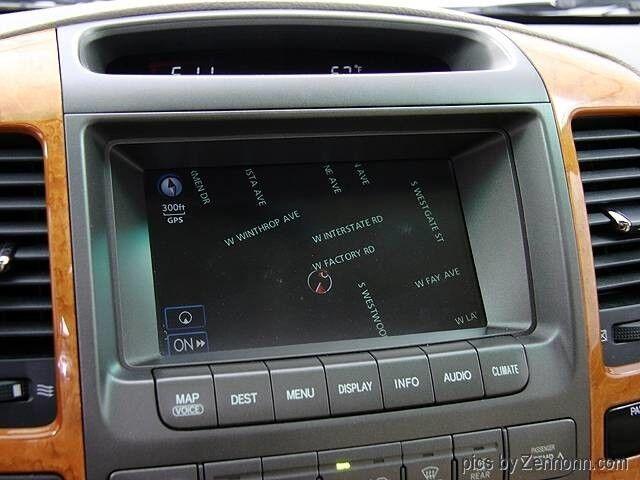 Lexus Gx470 Navigation Lcd Display Digitizer Touch