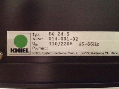 KNIEL BG 24 . 5   220V , Netzteil   Linearregler  Stromversorgung  Power Supply