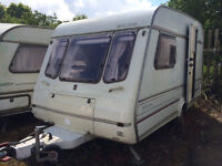 Caravan 2 Berth, fully equipt, with awning and in good working order